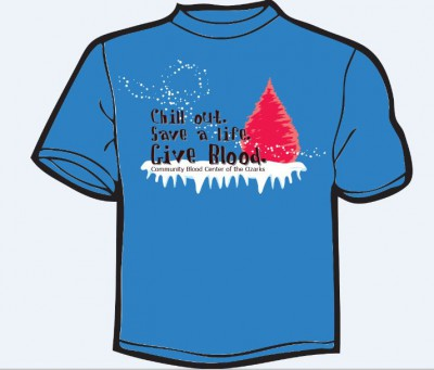 Miracle of Giving Blood Drive 2016 Free T-shirt