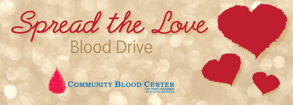 Spread the Love Blood Drive