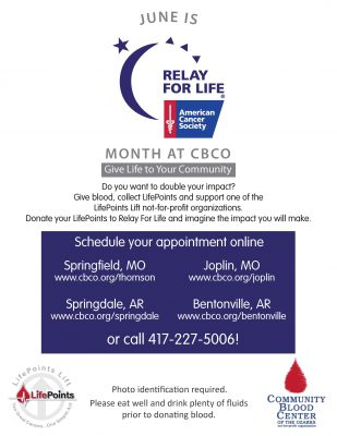 American Cancer Society of Southwest Missouri Relay For Life